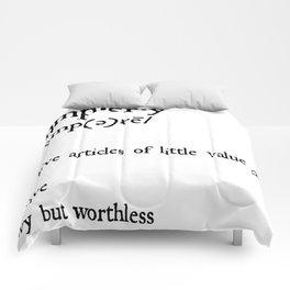 trumpery Comforters