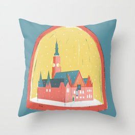 Wroclaw Throw Pillow