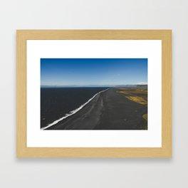 Dyrholaey Framed Art Print