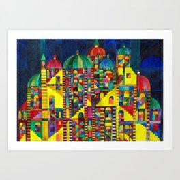Great Synagogue Art Print