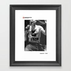 #03a — & 1984 Framed Art Print