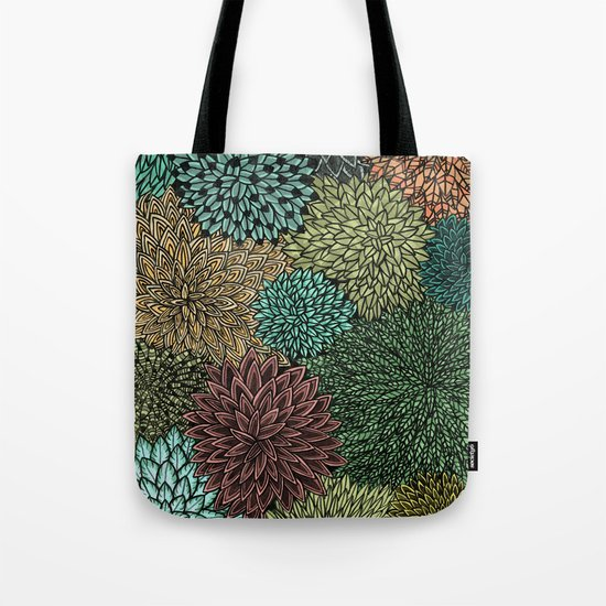 Ink  Pattern No.4 Tote Bag