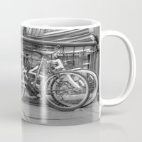 bikes Mugs featuring Bikes by Kyla Steeves