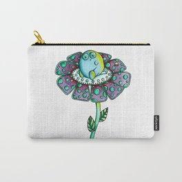 Flower Monster Carry-All Pouch