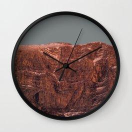 Dinara mountain / Detail Wall Clock