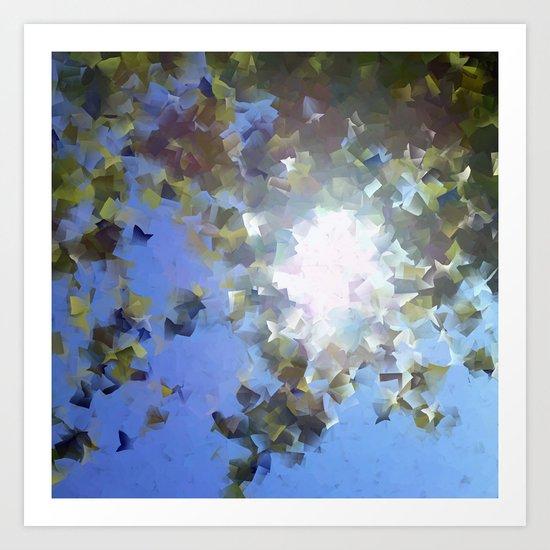 Chasing Sunlight Art Print