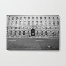 U.S. Federal Office Building Metal Print