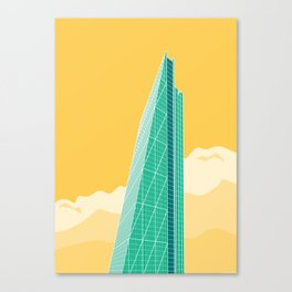 The Cheesegrater Canvas Print