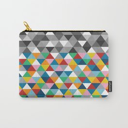 Triangles with Topper Carry-All Pouch