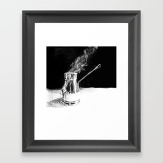 Arabic Coffee Framed Art Print