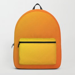 Yellow and Orange Gradient Backpack