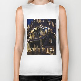 Christmas advent candle arches Biker Tank