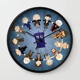 Doctors United Wall Clock