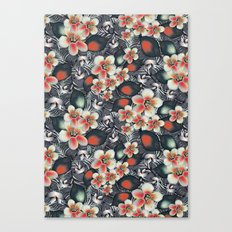 exotic floral Canvas Print