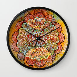 Stain 2 Wall Clock