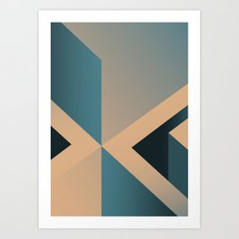 A Certain Shade of Blue Art Print