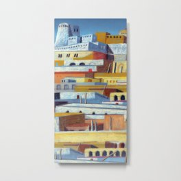 the fortress Metal Print