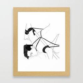 竹 Framed Art Print