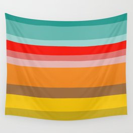 Color Stripes Wall Tapestry