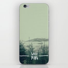 Wild Thing: Skagit Valley, Washington iPhone Skin