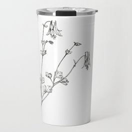 Eastern Red Columbine Travel Mug