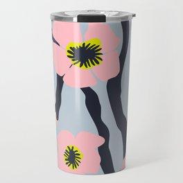 Pink Blooms Everywhere No 02 Travel Mug