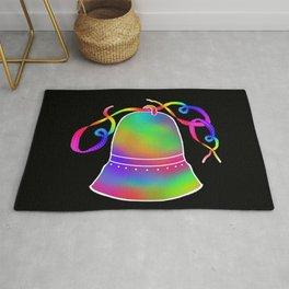 Rainbow Bell in Black Rug