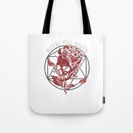 Metal Till Death Heavy Metal Hard Rock Music Lovers Blues Funk Band Gift Tote Bag