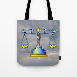 Scales Knot Tote Bag