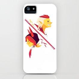 Lover birds iPhone Case