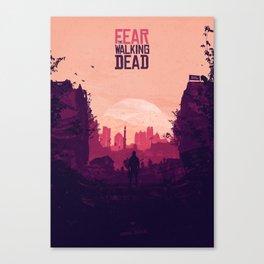Fear The Walking Dead Canvas Print