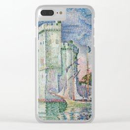 Entrance to the Port of La Rochelle Clear iPhone Case