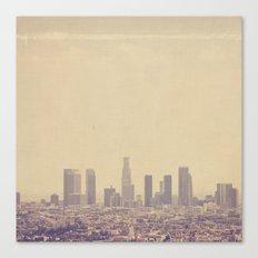 Southland. Los Angeles skyline photograph Canvas Print