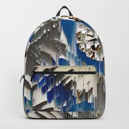 diamond in the blue agate cross Backpack