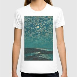 Classical Masterpiece 'Isle of Shoals' Rhode Island by Frederick Childe Hassam T-shirt