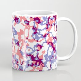 broken, red and blue Coffee Mug