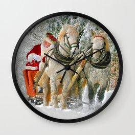 Christmas_20171107_by_JAMFoto Wall Clock