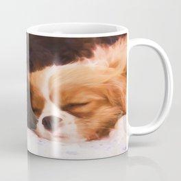 Sleeping Buddies Cavalier King Charles Spaniels Coffee Mug