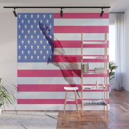 United States Freedom Flag Wall Mural