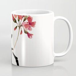 Skeleton Hand with Flower Coffee Mug