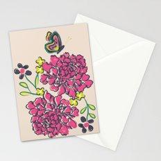 budding love Stationery Cards
