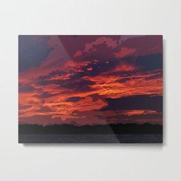 Cozumel Sunset Metal Print