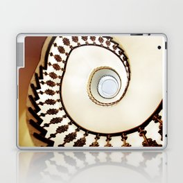 Spiral staircase in warm colours Laptop & iPad Skin