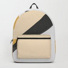 Abstract Dune - Golden Desert Backpack