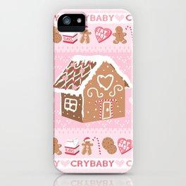 Crybaby xmas iPhone Case
