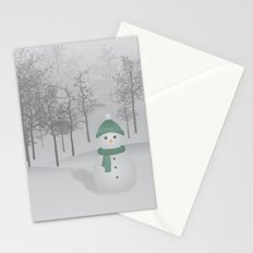 Christmas Snowman Stationery Cards