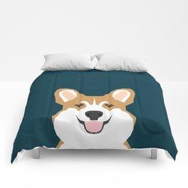 Teagan - Corgi Welsh Corgi gift phone case design for pet lovers and dog people Comforters