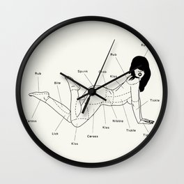 The right spot Wall Clock
