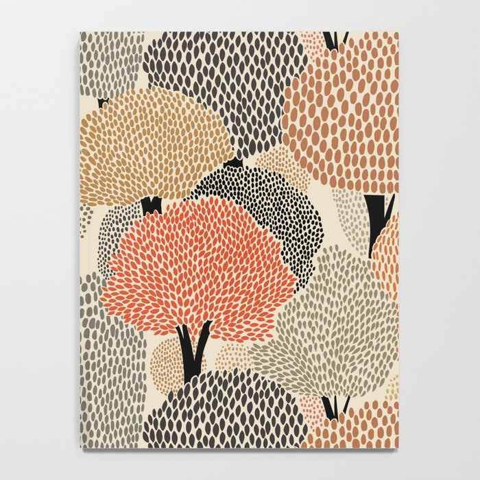 Autumn forest Notebook
