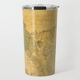 Map of Alameda 1857 Travel Mug